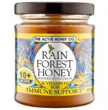 RainForest Honey Active 10+ |with Lemon & Vitamin D3 | 227g |